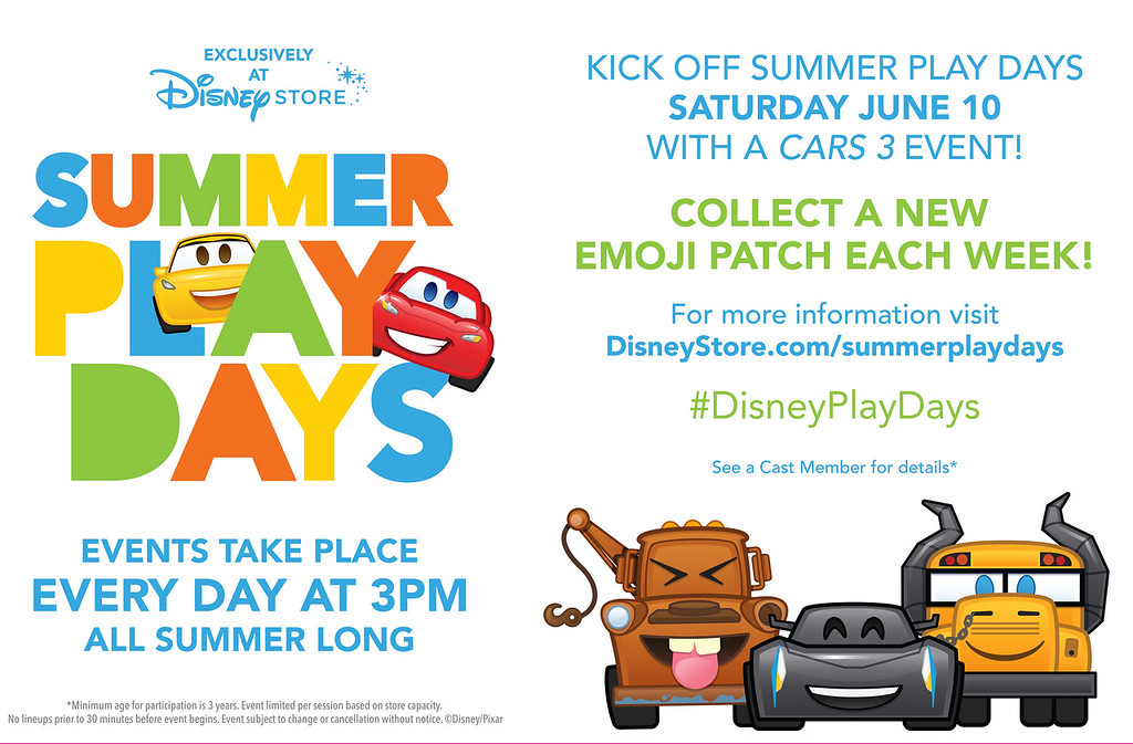 Disney Stores, Nationwide, Kick Off 'Summer Play Days' Series