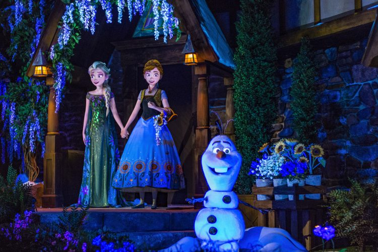 Frozen Ever After Dessert Party Reservations Now Available