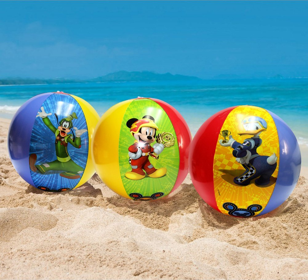 Have Summer Fun with Disney Beach Balls Featuring Mickey