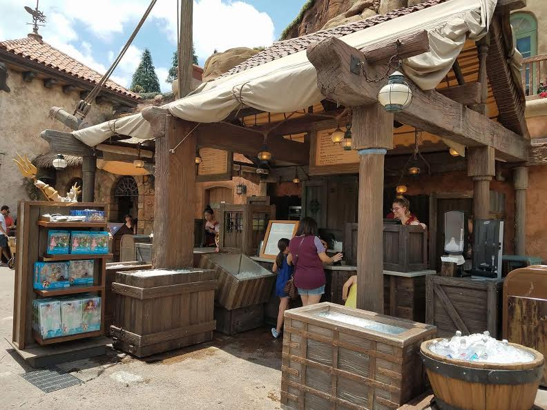 New Snacks & Treats Available at Prince Eric's Village Market in Magic Kingdom