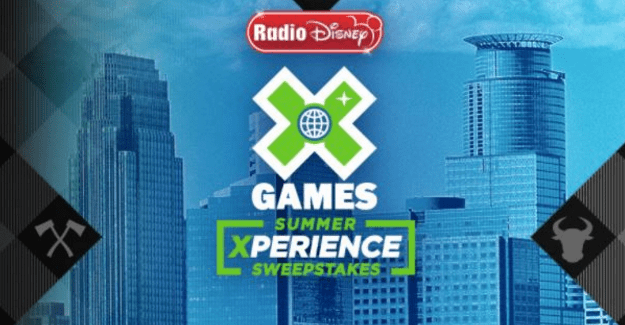 Radio Disney X Games Summer Xperience Sweepstakes