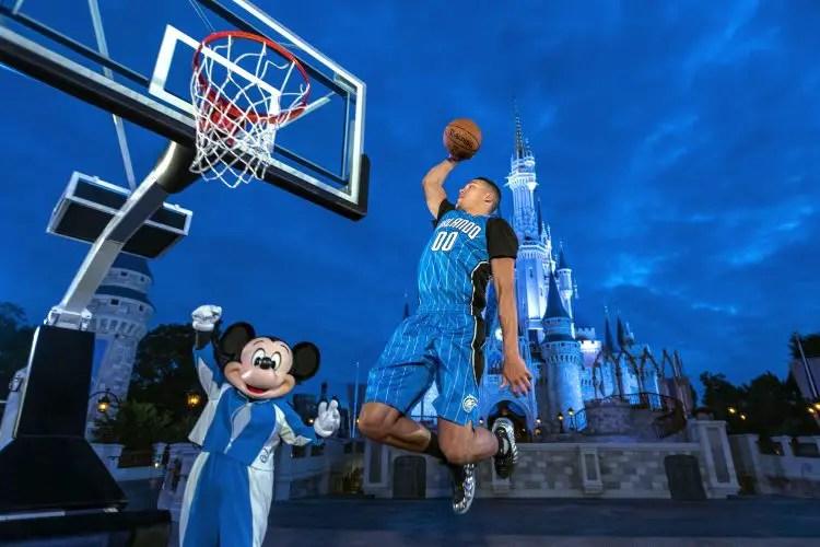 Walt Disney World Resort Becomes Orlando Magic's First Jersey Sponsor
