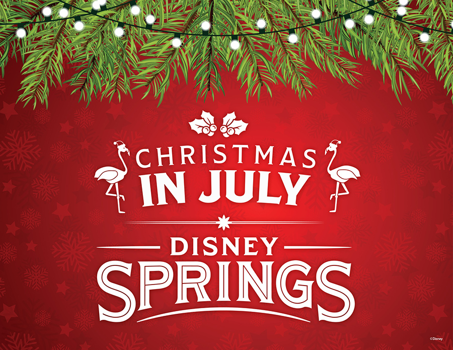 Christmas in July Comes to Disney Springs