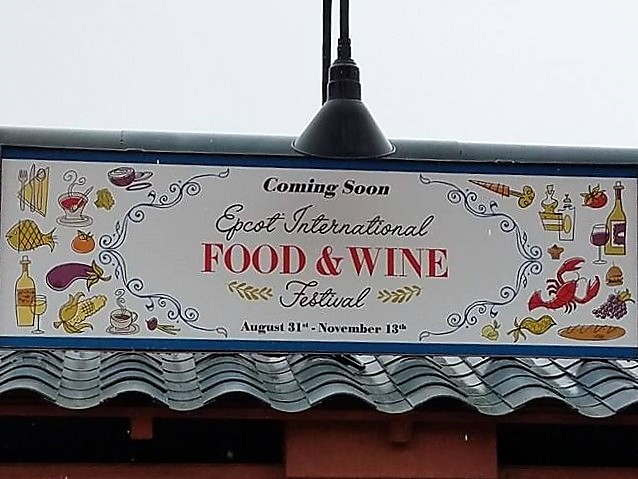 EPCOT Food and Wine Marketplaces Have Begun to Appear