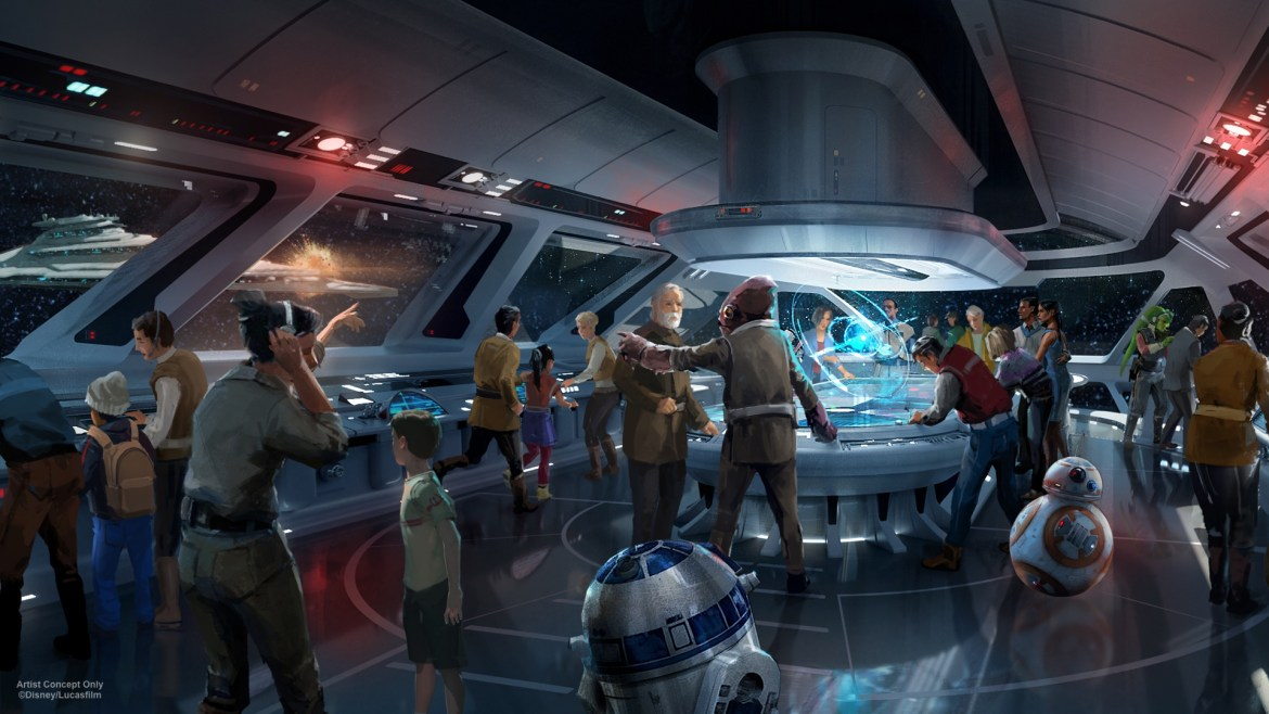 New Permits Show Size of Star Wars Hotel and More