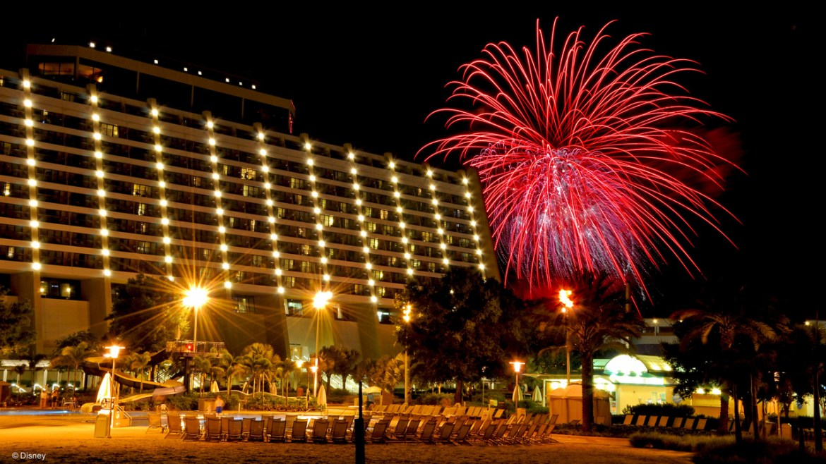 Three Celebrations to Ring in the New Year at Disney's Contemporary Resort