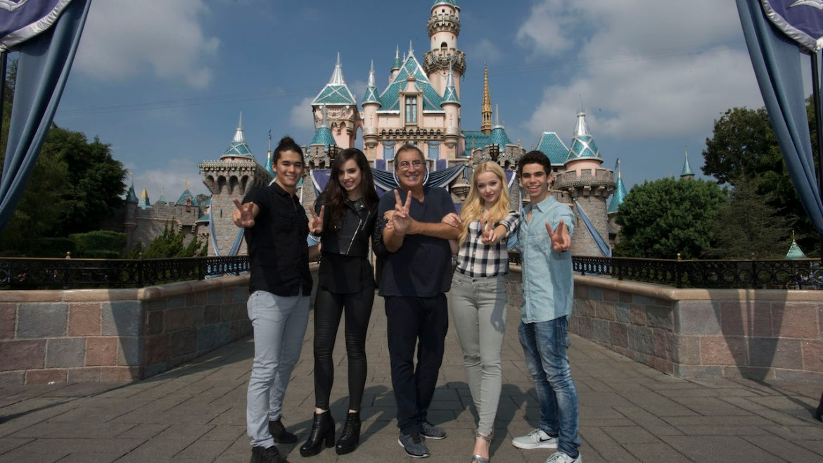Cast of Descendants 2 to Serve as Grand Marshals at Mickey's Soundsational Parade at Disneyland Today