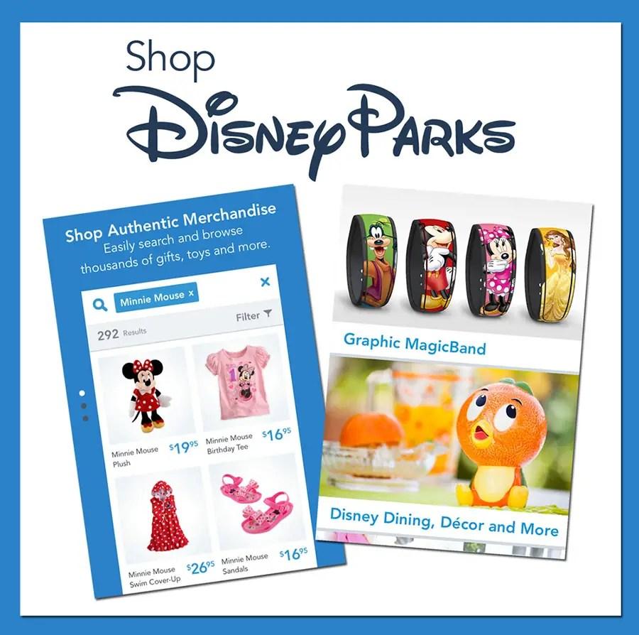 Shop Disney Parks Mobile App Offering 25% Off For Next Four Days