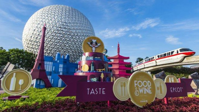 Tickets for Epcot International Food & Wine Festival Special Events On-Sale This Week
