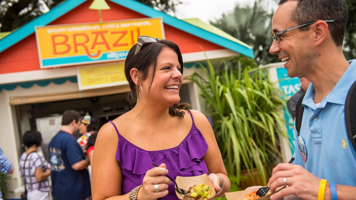 A Sneak Peak at This Year's 22nd Epcot International Food & Wine Festival