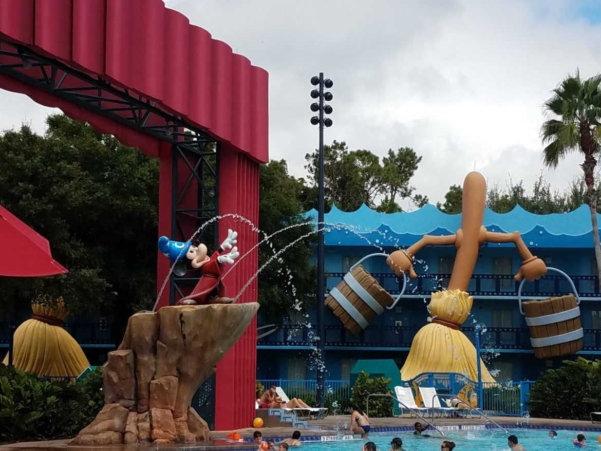 All Star Movies Fantasia Pool Receives New Seating