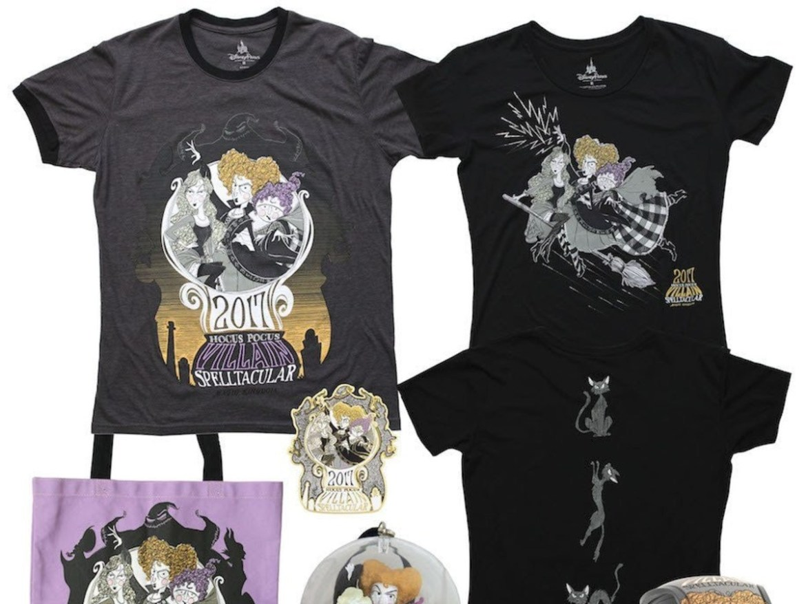 Hocus Pocus Halloween Merchandise Recalled Before First Mickey's Not-So-Scary Halloween Party