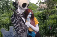 Jack and Sally Take Part in Adoption Surprise at Mickey's Not So Scary Halloween Party