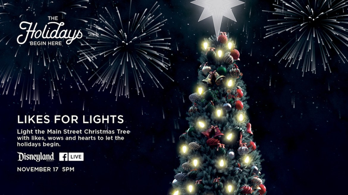 You Can Help Light the Disneyland Park Christmas Tree This Week