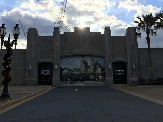 Take a Closer Look at the Entrance to Star Wars: Galaxy's Edge at Hollywood Studios