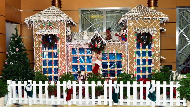 And the Winner of Disney Cruise Line's Annual Gingerbread Competition Is…
