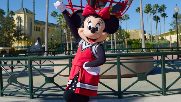 Minnie Mouse Debuts New Cheerleader Uniform for National Polka Dot Day!