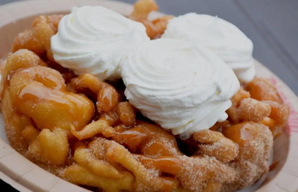 Delicious Disneyland's Churro Funnel Cake Recipe!