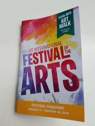Festival Passport Front Cover