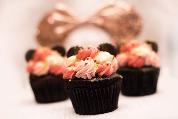 Your Guide to All the Rose Gold Cupcakes at Walt Disney World