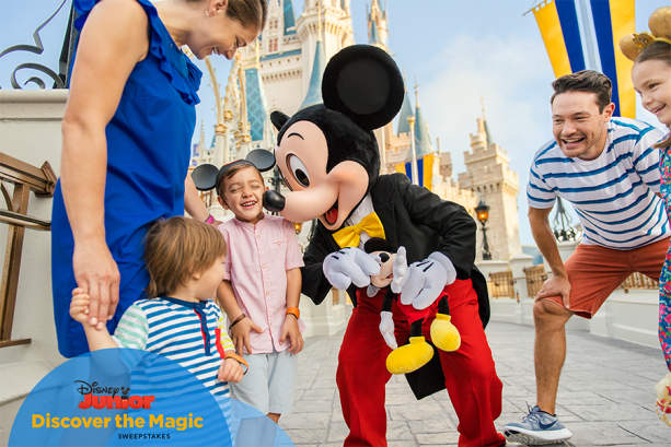 Win a Trip to Walt Disney World with the 'Discover the Magic' Sweepstakes from Disney Jr!