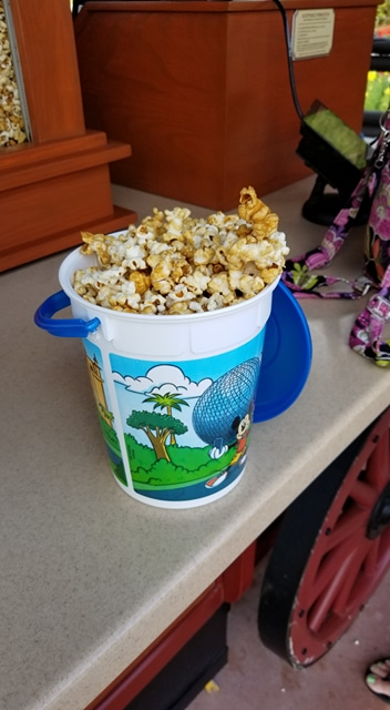 Maple Popcorn is the Perfect Snack to Enjoy While Exploring Epcot