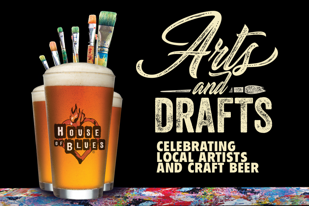 House of Blues at Disney Springs Announces Arts & Drafts Festival