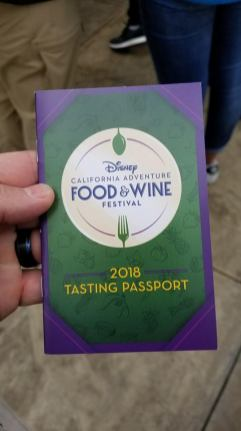 Tasting Passport Front Cover