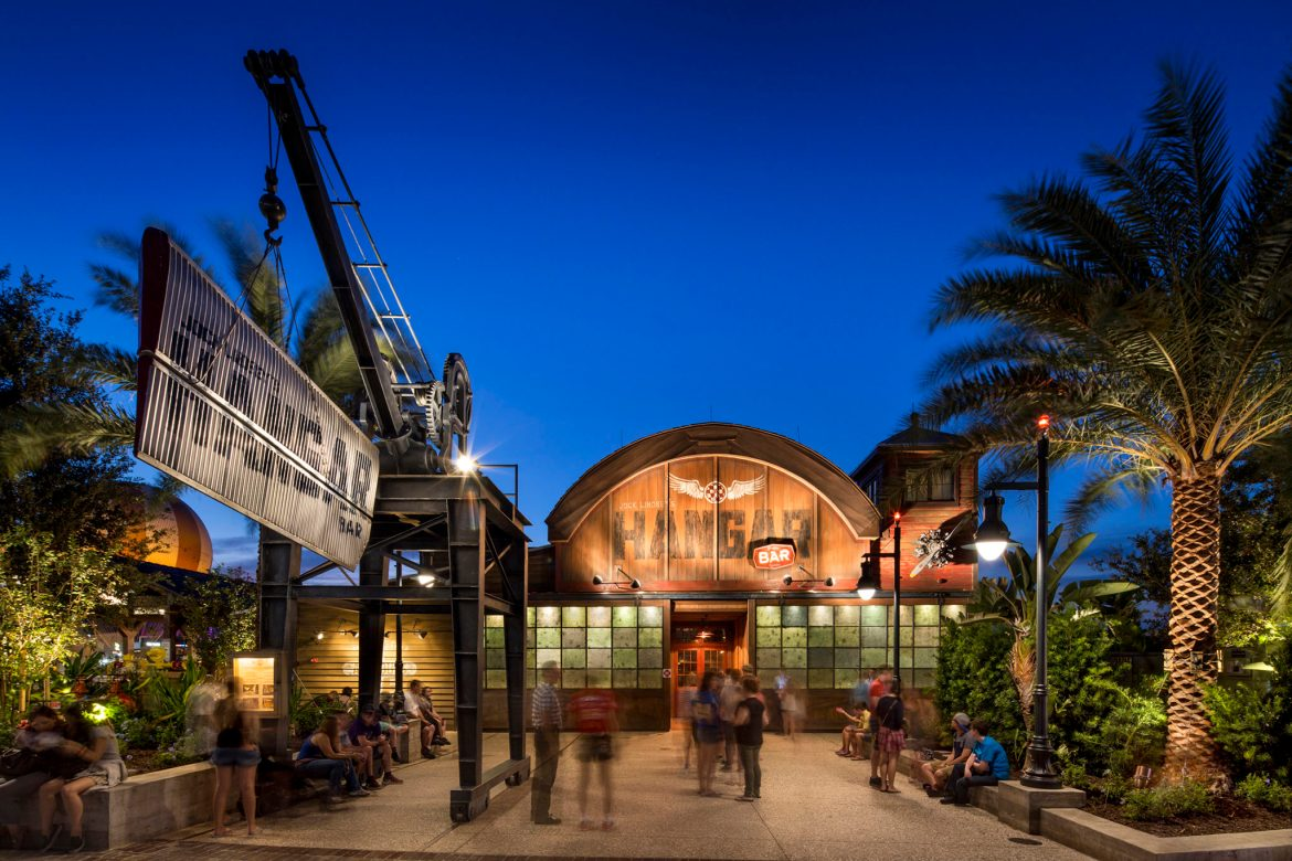Jock Lindsey's Hangar Bar reopens at Disney Springs