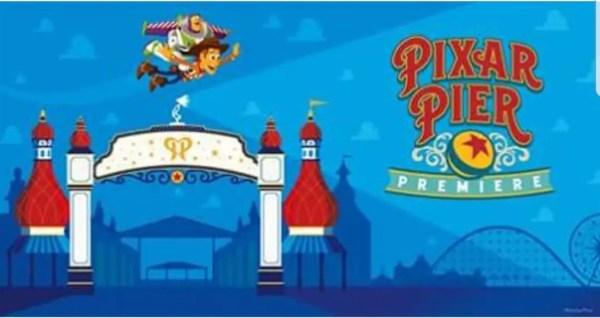 Pixar Pier Premiere