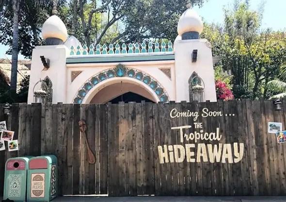The Tropical Hideaway is Coming Soon to Disneyland 1
