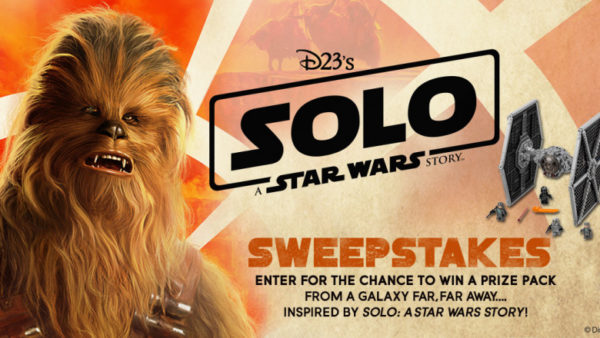 Enter Here to Win a Solo: A Star Wars Story Prize Pack from D23