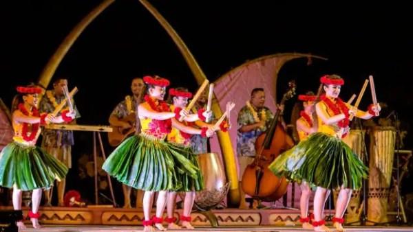Aulani KA WA'A luʻau
