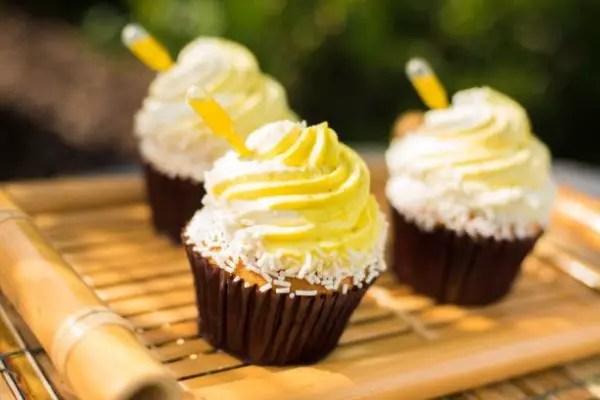 All Star MusicPineapple Whip Swirl Cupcake
