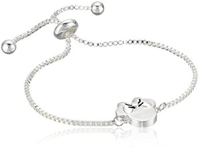 Simple And Chic Mickey Silver Pull Bracelet 3