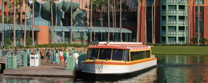 Swan and Dolphin Dock Refurbishment