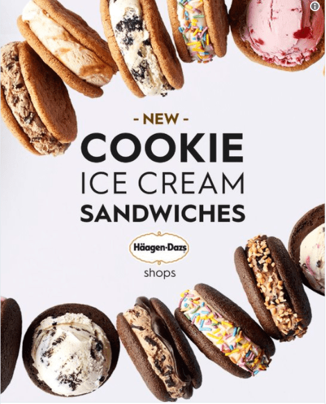 Häagen-Dazs at Disney Springs Introduces Two New Ice Cream Sandwiches