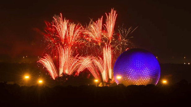 Celebrate 4th of July at Epcot