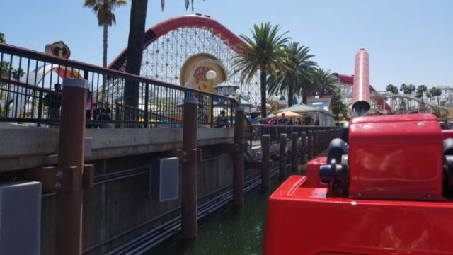 VIDEO and PHOTOS: First Look At The Incredicoaster In Pixar Pier 14