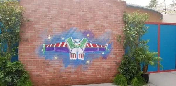 Buzz Lightyear walls