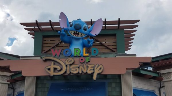 new World of Disney signage