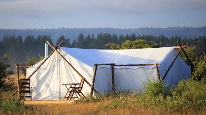 Safari-Tent on Adventures by Disney Montana