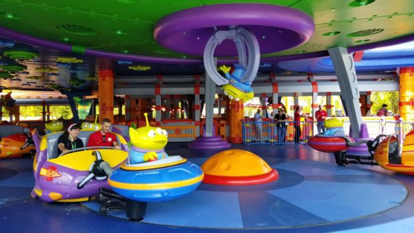 First Look At Alien Swirling Saucers In Toy Story Land! 1