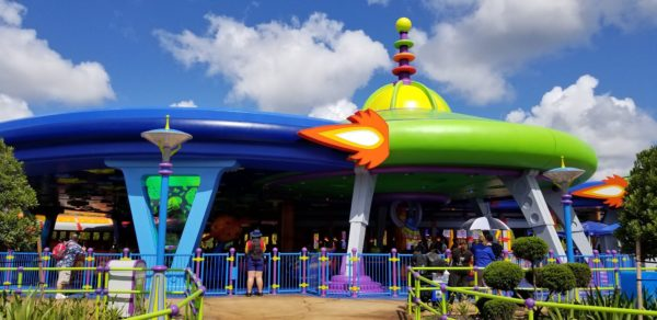 First Look At Alien Swirling Saucers In Toy Story Land! 2