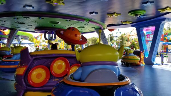 First Look At Alien Swirling Saucers In Toy Story Land! 7