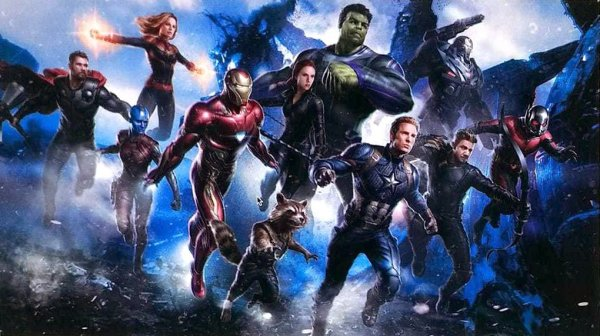 Avengers 4 leaked artwork