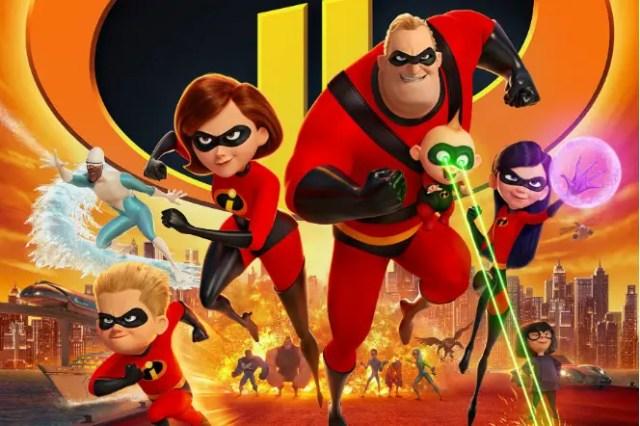 Incredibles 2 Opening Weekend