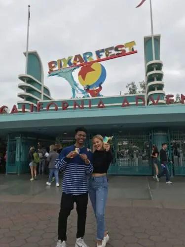 Marvel's Cloak And Dagger Stars Visit Disneyland 5