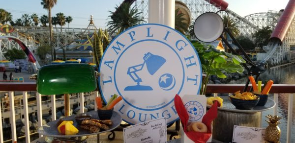 Check Out All Of The Amazing Eats At Pixar Pier's Lamplight Lounge 1