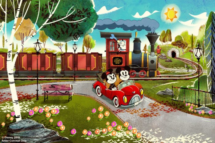 New Concept Art and Details For Mickey and Minnie's Runaway Railway 5